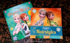 Get Creative with Disney Frozen Fever Hairstyle and Party Book