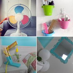 DIY: 24 ideias criativas e econômicas para decorar e organizar o quarto.