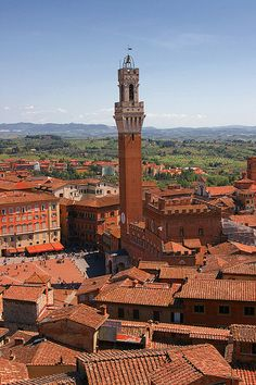 Siena, Tuscany, Italy >> Great view from up there!