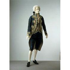 Court Suit 1790-1800 France V&A