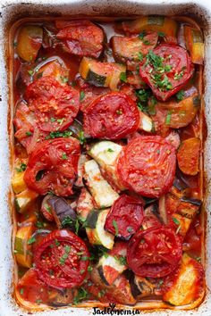 Briam, Ratatouille, Food Inspiration, Grilling, Clean Eating, Dinner Recipes, Good Food, Food And Drink, Potatoes