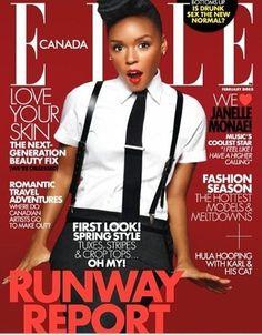 Jenelle Monae for Elle Canada, February 2013