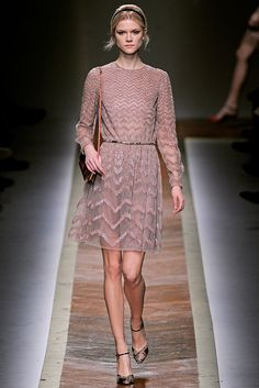 Valentino Fall 2011 Ready-to-Wear - Collection - Gallery - Look 1 - Style.com