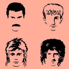 Queen Rock, Queen E, Freddie Mercury Tattoo, Queen Freddie Mercury, John Deacon, Band Tattoo, I Tattoo, Queen Banda, Beast Logo