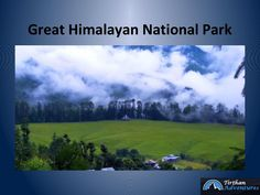 Himalayan region is a blessing in disguise for nature lovers and those seeking adventurous and refreshing break from their routine life. One such get away stop for wildlife lovers is the Great Himalayan National Park (GHNP).