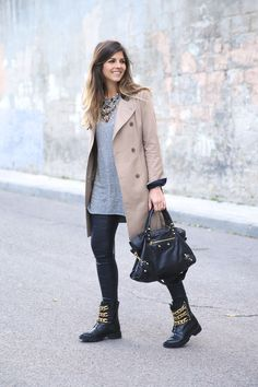 Trendy Taste     Trench and Maxi TShirt