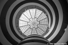 Guggenheim Museum - Frank Lloyd Wright, Michael Merne, New York, 1997