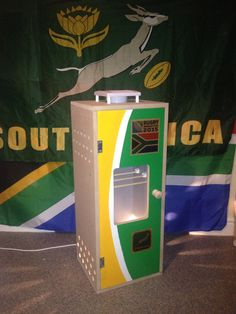 This Boks box for the RWC is up for auction on my Facebook page - Botha Biltong Boxes.