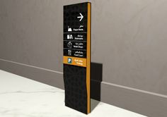 Our 3D sign design for Haifa Mall #HaifaMall #signage #wayfinding #design…