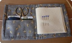 sewing book -- needle case -- coccole