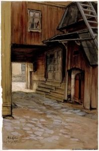 House in Porvoo - Albert Edelfelt - The Athenaeum