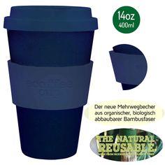 Design Thermobecher mit extra dicker Hitzemanschette - frei von BPA (Bisphenol…