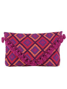 Colibri Playa Clutch VIA Pink Mascara