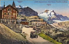 Klausenstrasse, Hotel Klausen-Passhöhe (1838 m)
