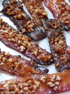Caramelized Bacon substitute sugar free Carmel and brown sugar....