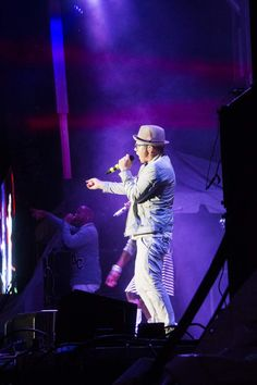 TobyMac on Stage at Rock the World 2014