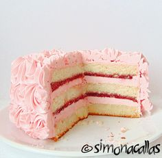 Vanilla Cake, Food And Drink, Ice Cream, Candy, Sweet, Recipes, Pies, Deserts, Crack Cake