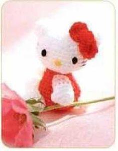 Mini Hello Kitty Amigurumi - FREE Crochet Pattern / Tutorial
