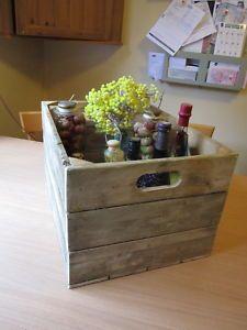 8 best vintage wooden fruit boxes images fruit box wooden crates rh pinterest com