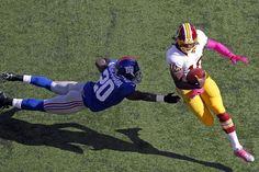 Washington Redskins quarterback Robert Griffin III...nit a Redskins fan, but definitely a fan of RGIII!!!