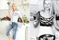 Gwyneth Paltrow in Her Kitchen For Vogue US