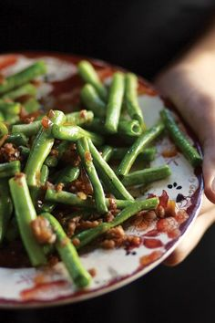 GAN BIAN SI JI DOU ~~~ this dish of yardlong beans and preserved vegetables may or may not include pork, dried shrimp, tofu gan aka dry tofu aka spiced tofu aka five spice tofu, and varying amounts of seasoning. recipe gateway: http://www.saveur.com/article/Recipes/Classic-Dry-Fry-Green-Bean + http://www.seriouseats.com/recipes/2015/03/20150305-sichuan-dry-fried-green-bean-broiled-food-lab-recipe.html [China, Sichuan Province] [sichuan, szechwan, szechuan] [food lab]…