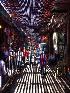 The souk (marketplace).  This makes me miss Rabat!
