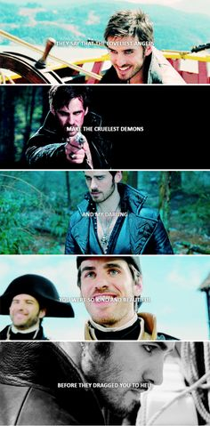 - your fall was not an accident. you were chosen for the damned - c.k #ouat