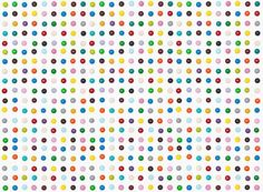 Henry Hargraves Recreats Damien Hirst's 'Spot' Paintings #damienhirst trendhunter.com