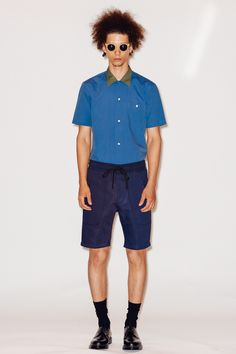 For #Spring #Summer #2015 we joined at #TimoWeiland at The Highline Hotel for their #NewYork Men's #Fashion Week presentation.We were captivated by how our 0737 Lime and 0737 Azure frames added definition to breezy Californian shapes. Get a recap of the show on our blog: http://9nl.us/tw #NYFW #Menswear #Fashion #SS15 #SpringSummer2015