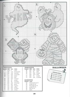 ru / Фото - The Big Book of Holliday. Counted Cross Stitch Patterns, Cross Stitch Charts, Cross Stitch Designs, Cross Stitch Embroidery, Fall Cross Stitch, Cross Stitch Needles, Cross Stitch Animals, Cross Stitch Collection, Halloween Cross Stitches