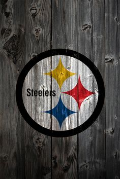 steelers painted barn wall