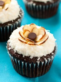 Almond Joy Cupcakes by Cooking Classy
