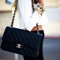 Bolsa Chanel Black