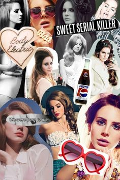 Lana Del Rey #LDR #collage