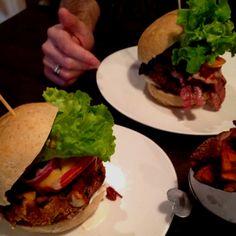 Delicious Jo Burger lunch....