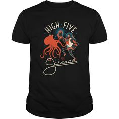 High Five For Science shirt longsleeve tee tank top - Science Shirts - Ideas of Science Shirts - High Five For Science shirt longsleeve tee tank top Science Shirts, Science Humor, March For Science, High Five, Cool Tees, Custom Shirts, Shirt Designs, Tee Shirts, Just For You