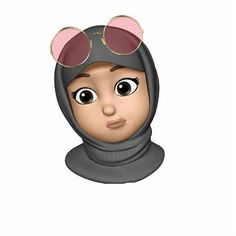 This is one of my favourite Memoji! Emoji Wallpaper, Cute Disney Wallpaper, Wallpaper Iphone Cute, Cute Cartoon Wallpapers, Panda Wallpapers, Girl Cartoon, Cartoon Art, Emoji Photo, Hijab Drawing