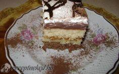 Somlói szelet Hungarian Food, Hungarian Recipes, Tiramisu, Ethnic Recipes, Recipes, Hungarian Cuisine, Tiramisu Cake