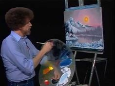Bob Ross Mountain Lake - The Joy of Painting (Season 1 Episode 10) ★ || CHARACTER DESIGN REFERENCES (https://www.facebook.com/CharacterDesignReferences & https://www.pinterest.com/characterdesigh) • Love Character Design? Join the #CDChallenge (link→ https://www.facebook.com/groups/CharacterDesignChallenge) Share your unique vision of a theme, promote your art in a community of over 25.000 artists! || ★
