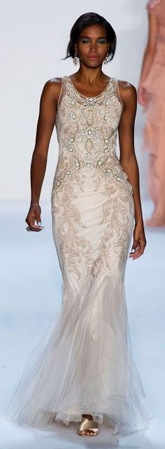 Badgley Mischka - New York Spring 2014