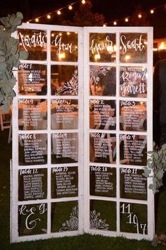 vintage old door wedding seating chart ideas chart wedding ideas Trending Wedding Seating Chart Decoration Ideas - Oh Best Day Ever Seating Plan Wedding, Wedding Table, Fall Wedding, Wedding Ceremony, Dream Wedding, Seating Plans, Old Doors Wedding, Altar, Table Seating Chart