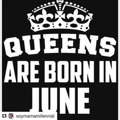 Yeiii las reinas nacimos en junio!! #Repost @soymamamillennial (@get_repost)  Bienvenido el mejor mes del año!! No solo porque cumplimos algunas del signo más polémico del zodíaco (volubles emancipadas no bipolares ) sino porque es el mes de los sentimientos encontrados vacaciones despedidas grados reencuentros ciclos que terminan y celebraciones. Feliz mes a todos . @clauchope @carlimartelo @mariavtamara @mariocarbod  Quien es tu geminiana(o) favorito?? #queensareborninjune