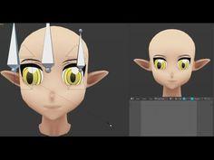 Anime eye Rig Blender 2.73 ( tutorial )