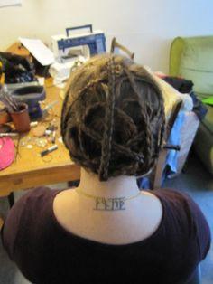 Chaos hair!!! :D