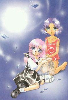 ♥⚫Utena&Anthy⚫♥ Shojo Manga, Shoujo, Manga Anime, Anime Art, Revolutionary Girl Utena, Girls Series, First Girl, Animated Cartoons, Character Sketches