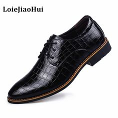 >> Click to Buy << 2016 New Fashion Men Dress Leather Shoes Men Luxury Brand Business Leather Office Shoes Casual Design Flats Men Oxfords Boots #Affiliate