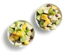 Quick and Creamy Fruit Salad Recipe : Sunny Anderson : Food Network Healthy Family Dinners, Healthy Meals For Kids, Good Healthy Recipes, Kids Meals, Healthy Snacks, Easy Recipes, Healthy Eating, Kid Snacks, Family Recipes
