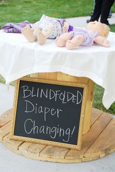 Blindfolded Diaper Changing For Men