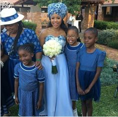 Top Shweshwe and jeans, shweshwe gown and shweshwe shirts in South Africa - Reny styles African Traditional Wedding Dress, African Wedding Dress, African Weddings, African Wear, African Dress, African Fashion, Fancy Suit, Fancy Dress, Shweshwe Dresses